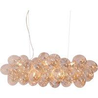 By Ryd ns Gross Bar pendant light  amber