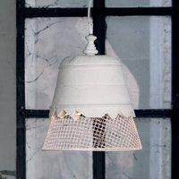 Karman Domenica plaster hanging light  white 35 cm