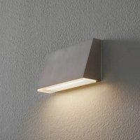 BEGA 50071 wall lamp trapezium 3 000K 18 cm steel