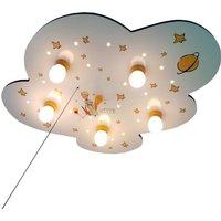 Little Prince Cloud ceiling light  white