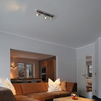 Asto Ceiling Spotlight Three Bulbs Decorative Ring