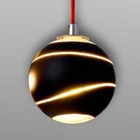 Small Bond hanging light black 12 cm