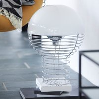 VERPAN Wire Large   table lamp  white lampshade