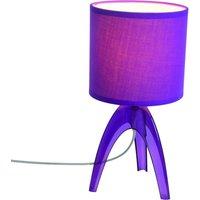 Trendy table lamp Ufolino  violet