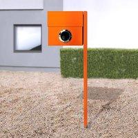 Letterman XXL letterbox  post  orange
