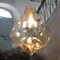 Karman 24 Karati hanging light  yellow leaf