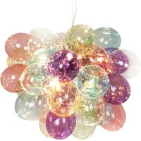 By Ryd ns Gross glass hanging lamp colourful 50 cm