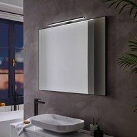 Pandora LED mirror light  matt black  45 8 cm