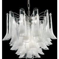 Murano glass pendant light Tulipani  45 cm