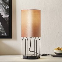 Sch ner Wohnen Grace table lamp rose