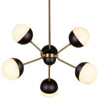 Orbit hanging light  six bulb