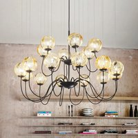 Puppet designer chandelier  Murano glass