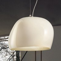 Surface hanging light   40 cm E27 white matt white