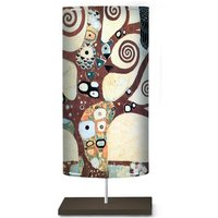 Floor lamp Klimt I with an art motif