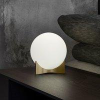 Terzani Oscar table lamp made of glass  brass