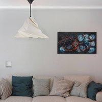 Twister hanging light  beige