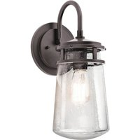 Industrial style outdoor wall light Lyndon