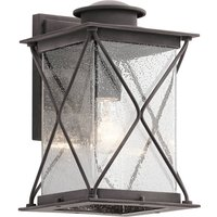 Large Argyle outdoor wall lamp