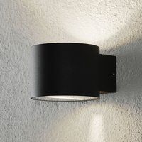 Chantal outdoor wall light in a cylindrical shape
