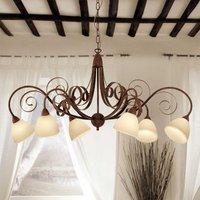 6 bulb hanging light Francesco