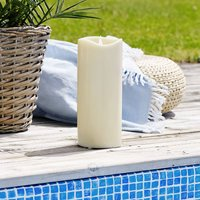 Grande LED candle  battery powered  height 31 cm