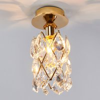 Charlene Crystal Ceiling Light Gold Plated