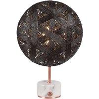 Forestier Chanpen S Hexagonal table copper black