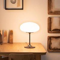 GUBI Stemlite table lamp  black chrome  42 cm