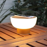 Patio LED decorative outdoor light  gold  20 cm
