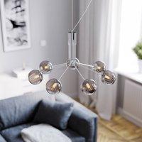 By Ryd ns Galax hanging light chrome grey 7 bulb