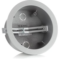 Eutrac housing for surface point outlet silver