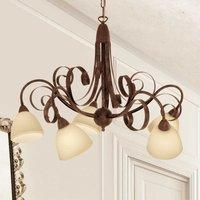 5 bulb hanging light Francesco