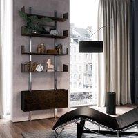 ICONE Gru arc lamp  black  aluminium