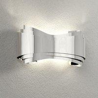 Designer wall lamp Ionica  chrome
