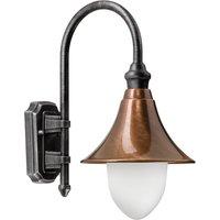 Elisa   a classically modern outdoor wall light