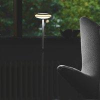 Shade  S1 floor lamp rings black base white