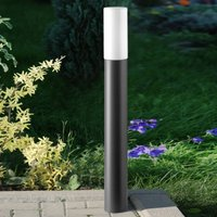 Attractive path light Gray with opal glass