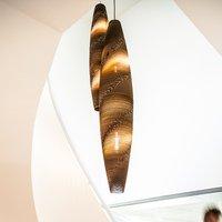 SEGULA Skinny pendant lamp with cardboard    21 cm