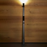 Luctra Flex LED floor lamp wireless  battery black