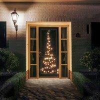 Fairybell  Christmas tree door silhouette 120 LEDs