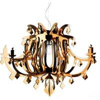 Gold Ginetta designer hanging light