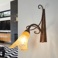 Flower shaped wall light Riccardo