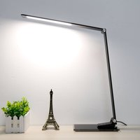 Starglass desk lamp with a glass base