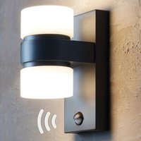Atollari LED outdoor wall light  motion detector