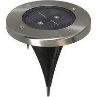 Torino   round solar LED deck light