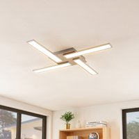 Lindby Smart Ibbe LED-Deckenleuchte, vierflammig