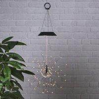 Firework LED solar hanging light
