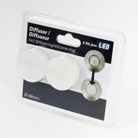 Diffuser attachment for recessed lights   set of 6
