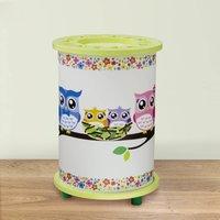 Green Owl children s table lamp