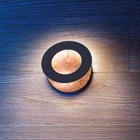ICONE Vera 31 LED wall light  copper black